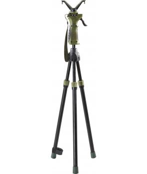 skydestok med udløser til justerbar ben og drej bar top 3 benet