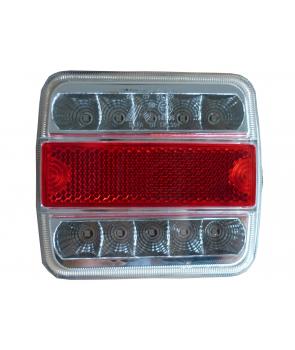 aglygtesæt led (2 stk) bag/stop/blink/ nummerplade og refleks