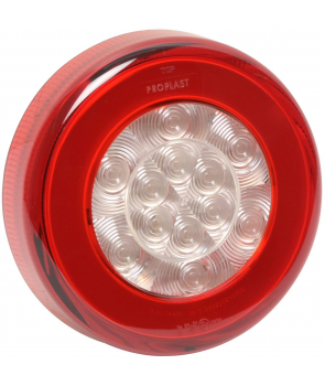 Basgygte led pro-ring ø140mm 12v/24v