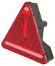 Baglygte led  trekant venstre