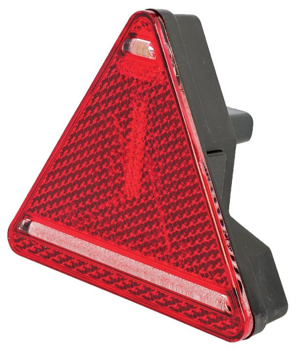 Baglygte led  trekant højre