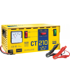 Batteri lader gys ct210 12v-24v 20-210Ah