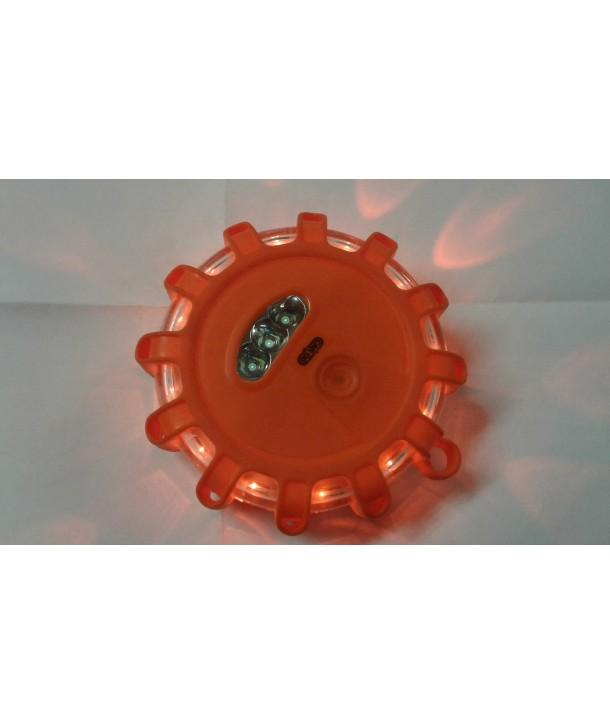 led Safety flash light med magnet