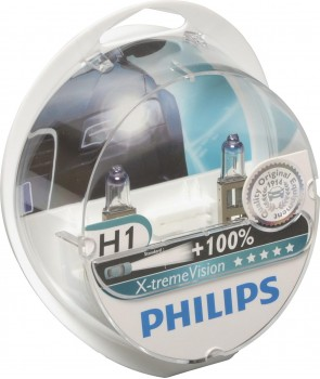 pillips x treme vision pære h1 2 stk