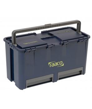 værktøjskasse compact 27 raacco  rum 2 skuffer