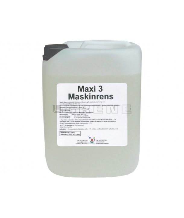 maxi3 maskinrens 5 l grovrengøring