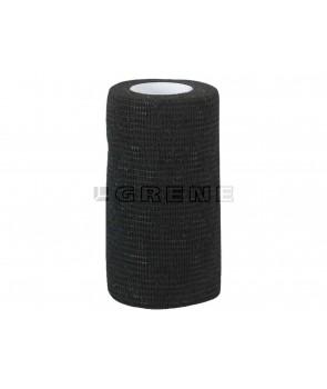 bandageelastk selvklæbende sort 10cm 4,5m
