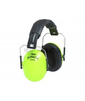 børne høreværn  ox.on lime