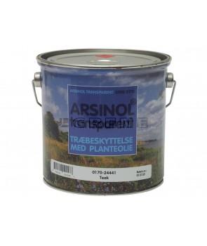 Arsinol tranperaent træolie 2,5med planteolie . til både før og efter behandling