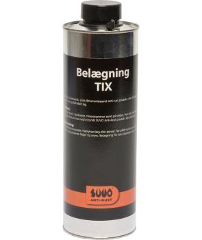 suuo belægning tix /anti-rust sort kraftig, slidstærk og fast
